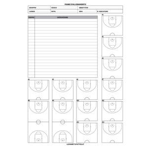4 Blocchi Piano Allenamento Basket