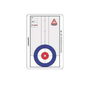 Lavagnetta Tattica per Curling